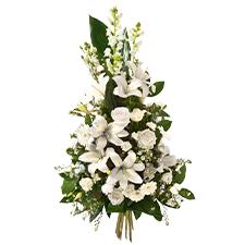 Interflora Hommage blanc