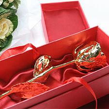 Interflora Rose en or