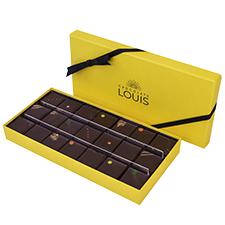 Interflora Assortiment de ganaches et pralinés chocolat noir X 21