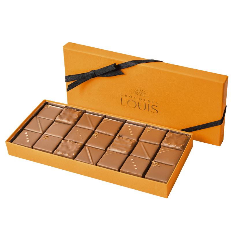 Interflora Coffret pralinés chocolat au lait X 21FALSE