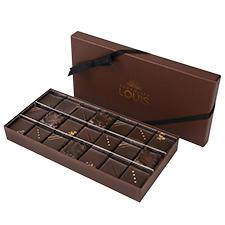 Interflora Coffret pralinés chocolat noir X 21