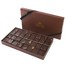 Interflora Coffret pralinés chocolat noir X 32