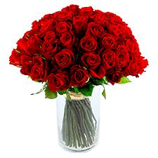 Interflora Brassée de 101 roses rouges Max Havelaar