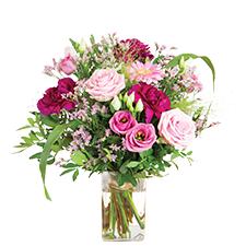 Interflora Bois de rose et son vase