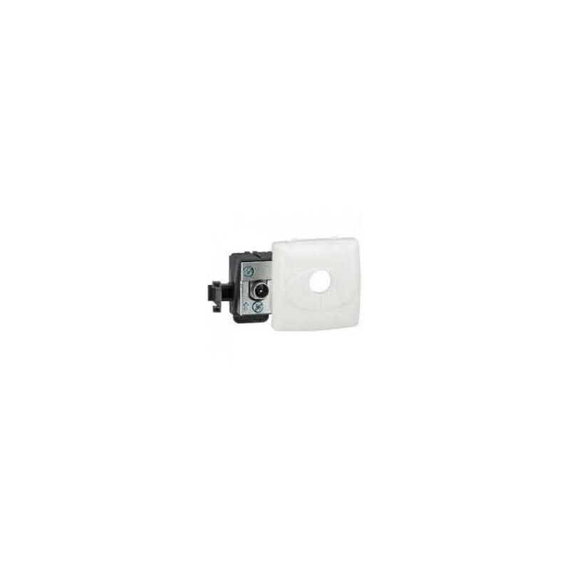 LEGRAND Prise TV simple - mâle - appareillage saillie composable - blanc