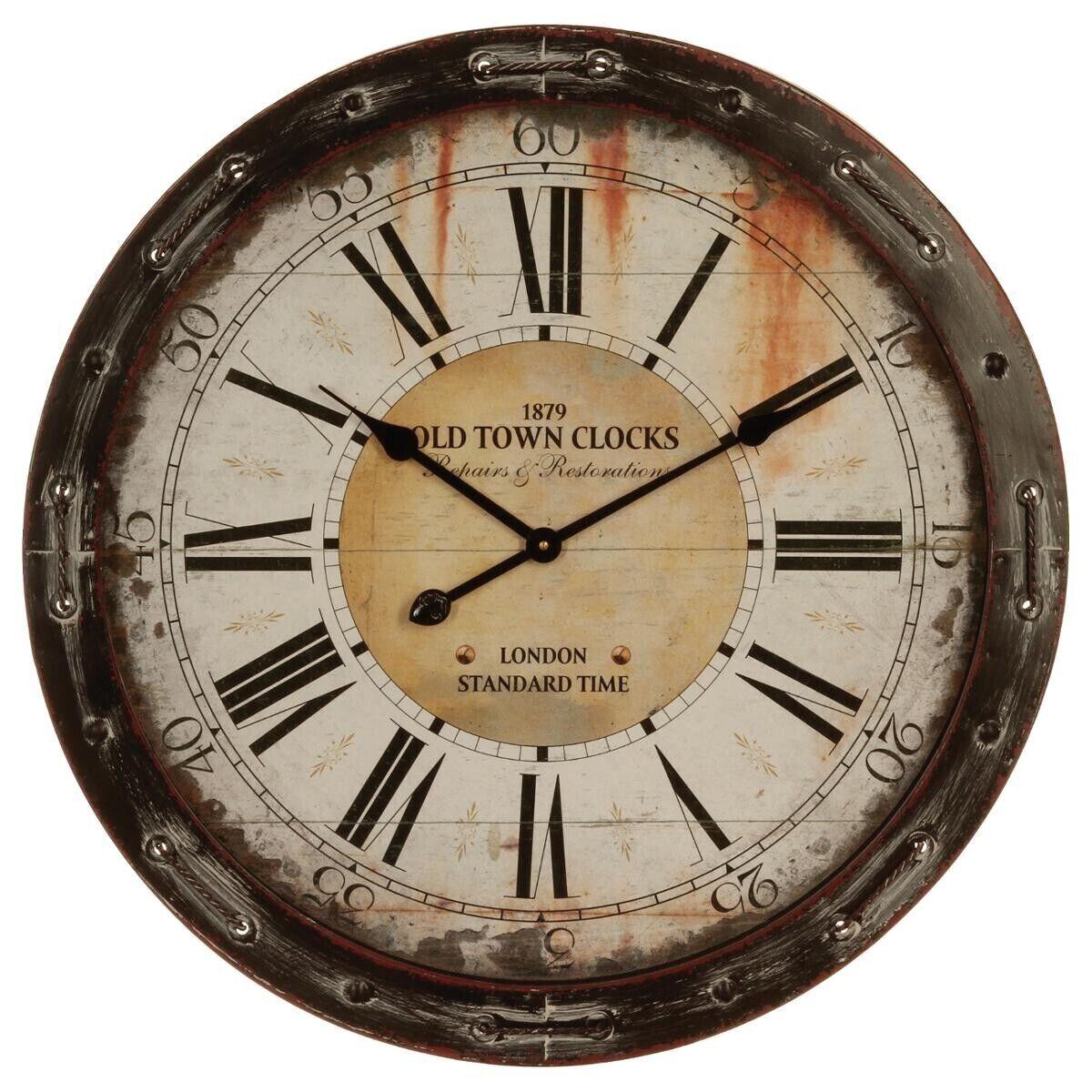 Atmosphera Horloge, métal corde D68 cm