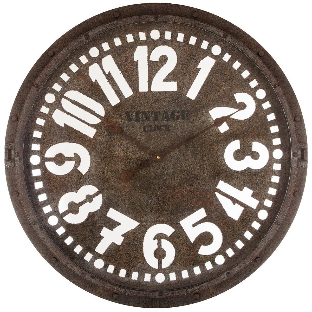 Atmosphera Horloge en métal ajouré D68 cm