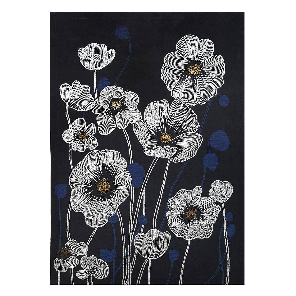 Atmosphera Toile imprimée Fleurs 50x70