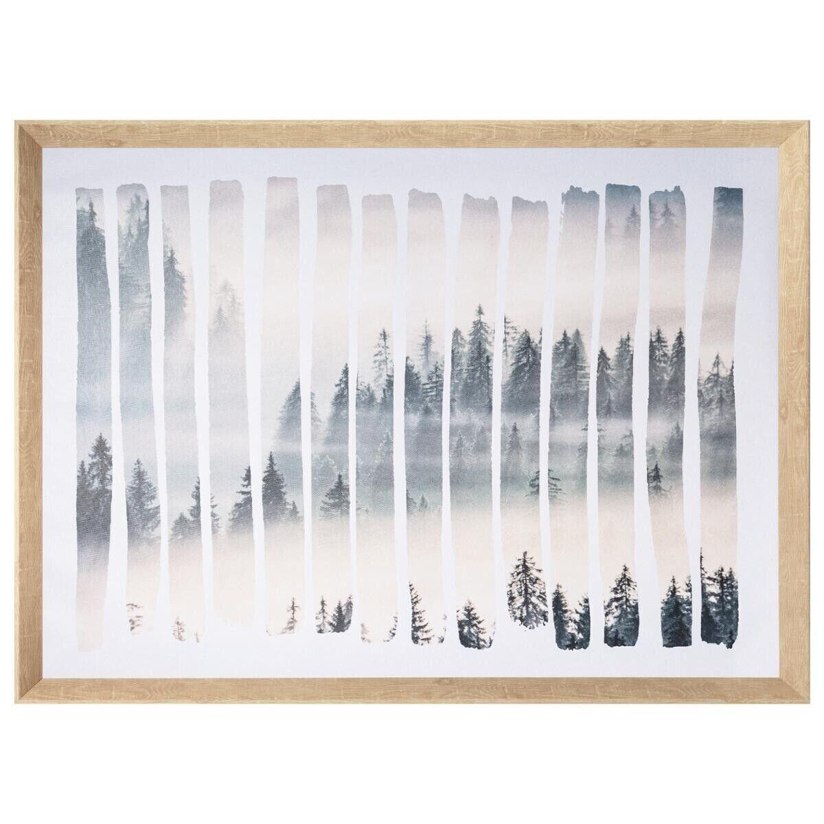 Atmosphera Toile imprimée cadre Paysage 78x58