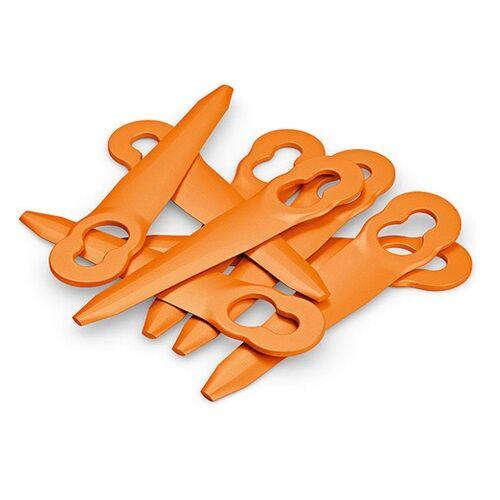STIHL Jeu de 8 couteaux PolyCut orange - STIHL - 4008-007-1000