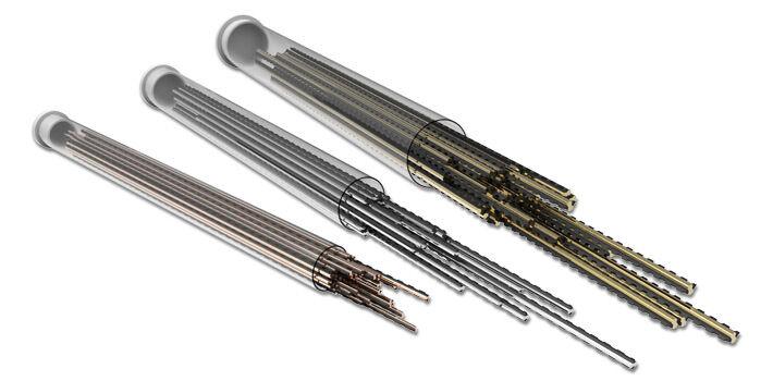 STIHL Bobine de fil diamètre 3,0 mm longueur 185 mm pour DuroCut - argent - STIHL - 0000-930-3504