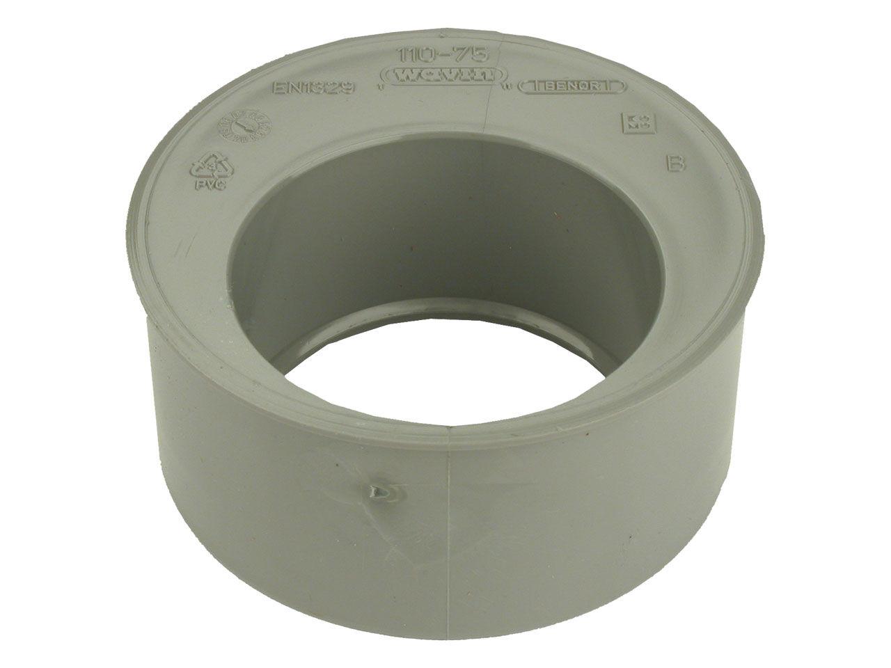 WAVIN Tampon de réduction incorporé simple Ø100/40 - WAVIN - 3025988