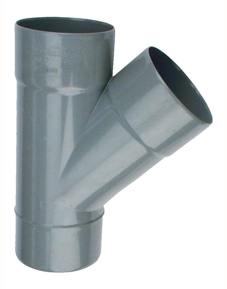 WAVIN Culotte PVC mâle-femelle 45° Ø100 - WAVIN - 3026016