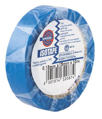 EUROCEL Ruban adhésif électricien Isotape bleu - EUROCEL - PV07BA0017