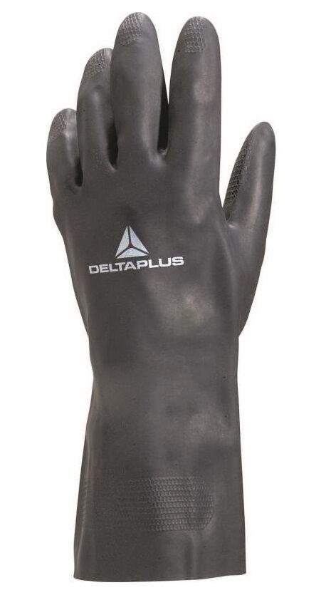 DELTA PLUS Gants de travail néoprène noir 30cm taille 8/9 - DELTAPLUS - VE509NO08