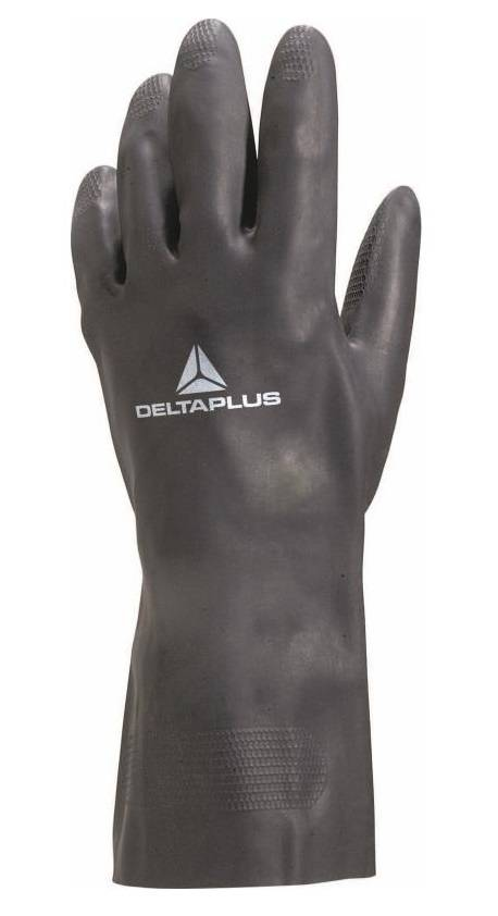 DELTA PLUS Gants de travail néoprène noir 30cm taille 9/10 - DELTAPLUS - VE509NO09