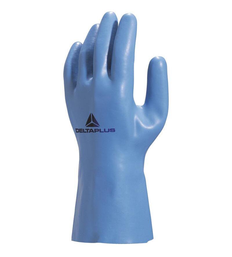 DELTA PLUS Gants de travail en latex coton Venitex 920 taille 8/9 - DELTAPLUS - VE920BL08