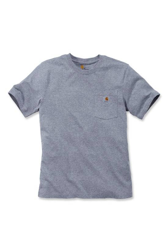 CARHARTT T-shirt manches courtes WORKWEAR POCKET taille S gris - CARHARTT - 103296