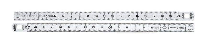 STANLEY Réglet inox flexible 200 mm - STANLEY - 1-35-522