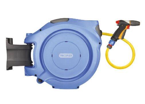 TRICOFLEX Dévidoir mural automatique WaterReel Pro pour eau 18,50 m - TRICOFLEX - 25020000