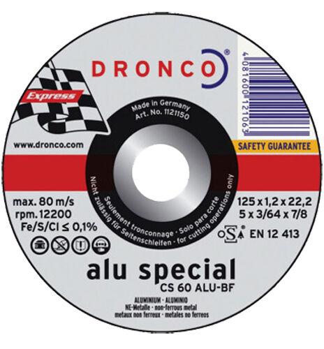 DRONCO Disque à tronçonner CS 60 Alu 115 x 1,2 mm - DRONCO - 1111150