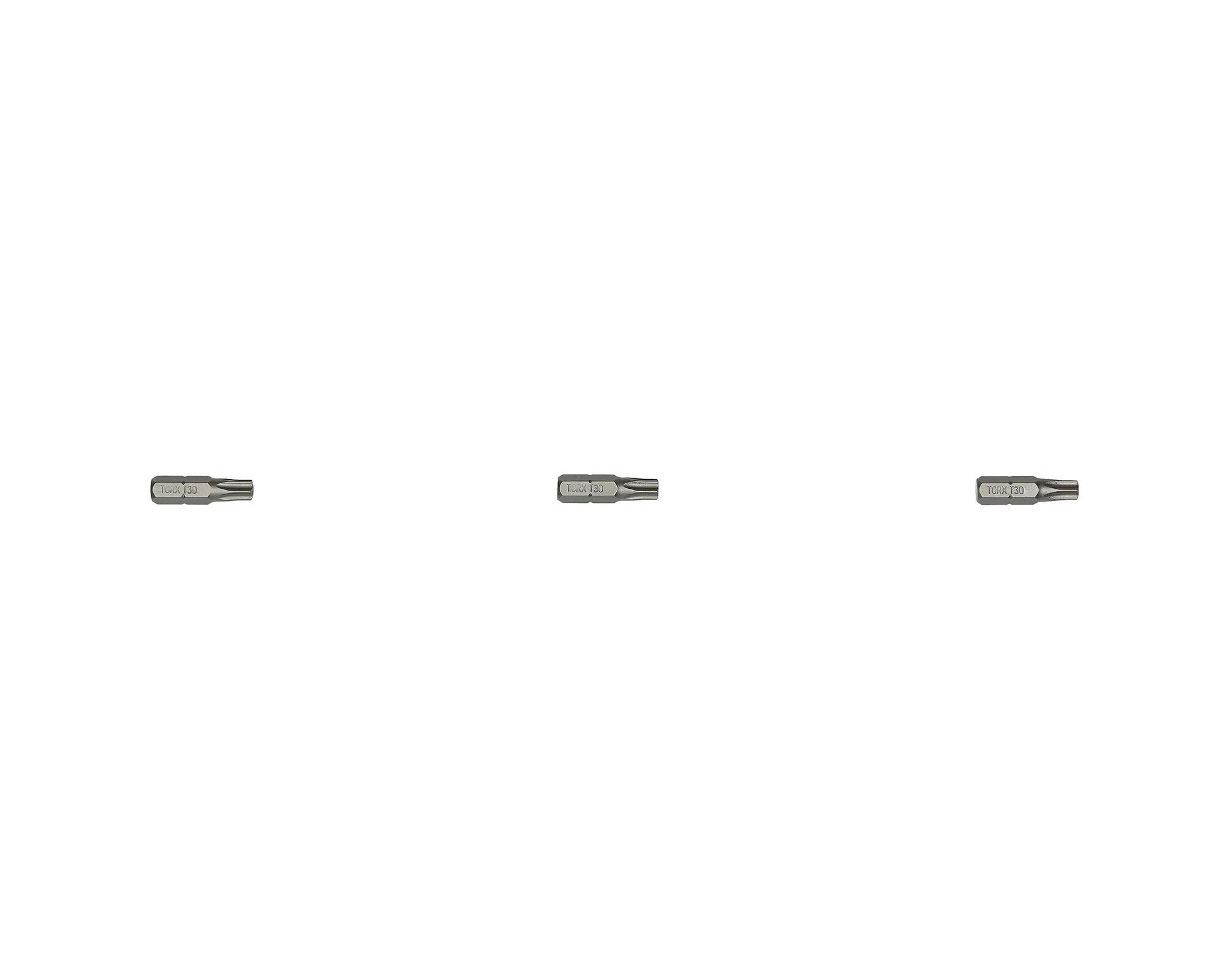 HANGER Carte de 3 embouts étoile percée TTX20 longueur 25 mm - HANGER - 133043