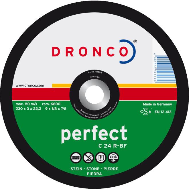 DRONCO Disque à tronçonner matériaux C 24 R 125 x 3 mm - DRONCO - 1127015