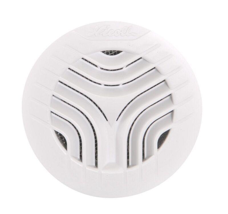 NICOLL Grille de ventilation à encastrer aération intérieur pour tubes PVC Ø 80 blanc - NICOLL - 1GATM80
