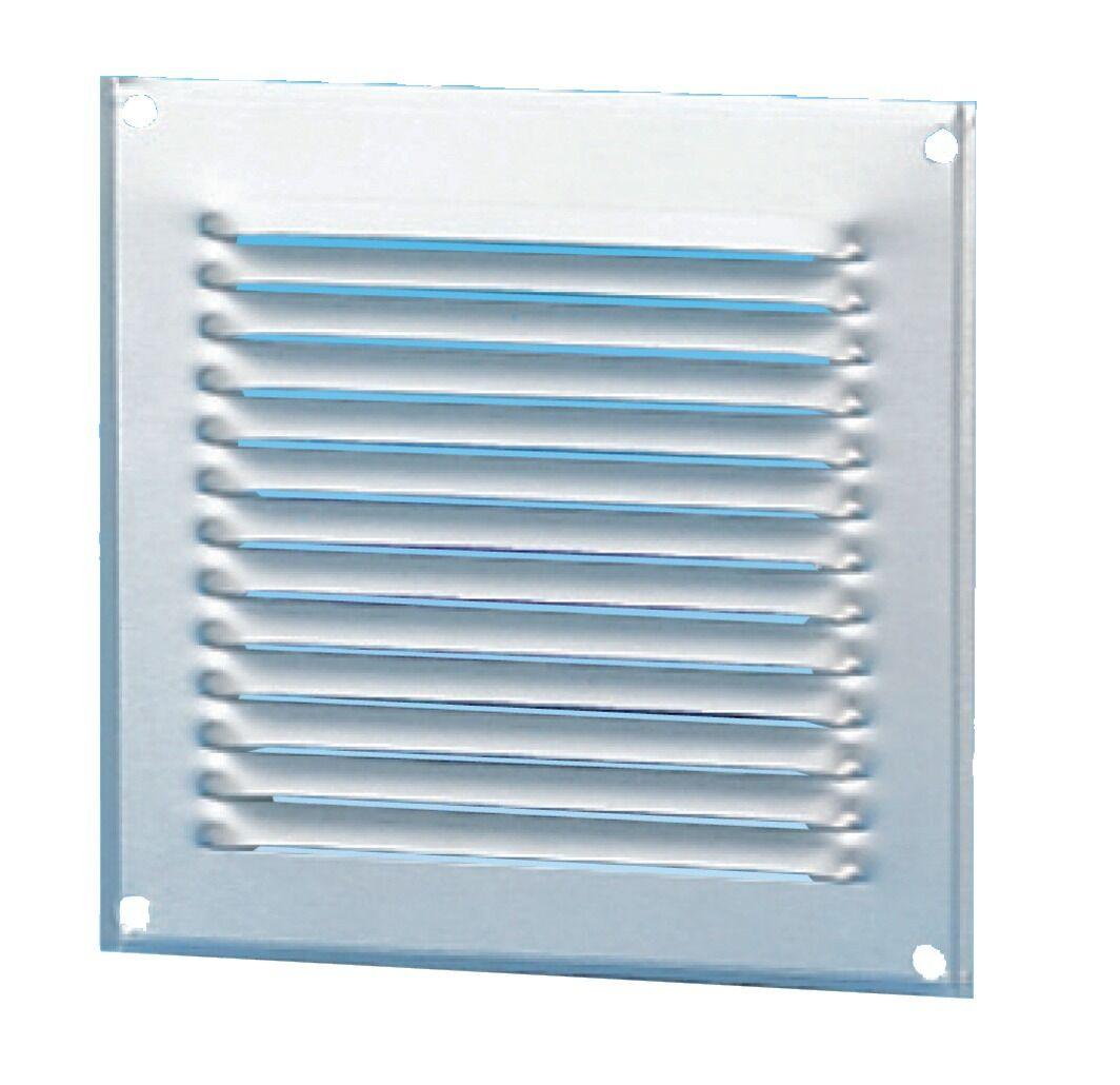 UNELVENT Grille de ventilation en applique alu 165X165 mm - UNELVENT - 870215