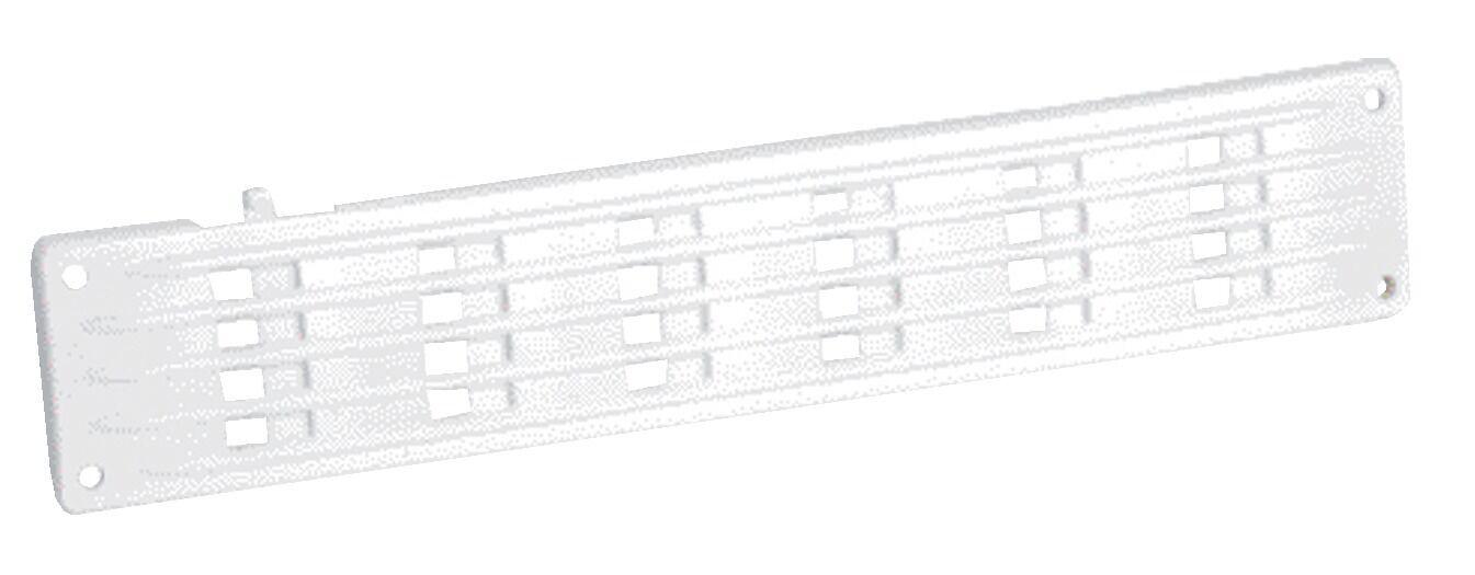 NICOLL Grille de ventilation en applique rectangulaire plate à fermeture 40x200mm - NICOLL - 1PF200