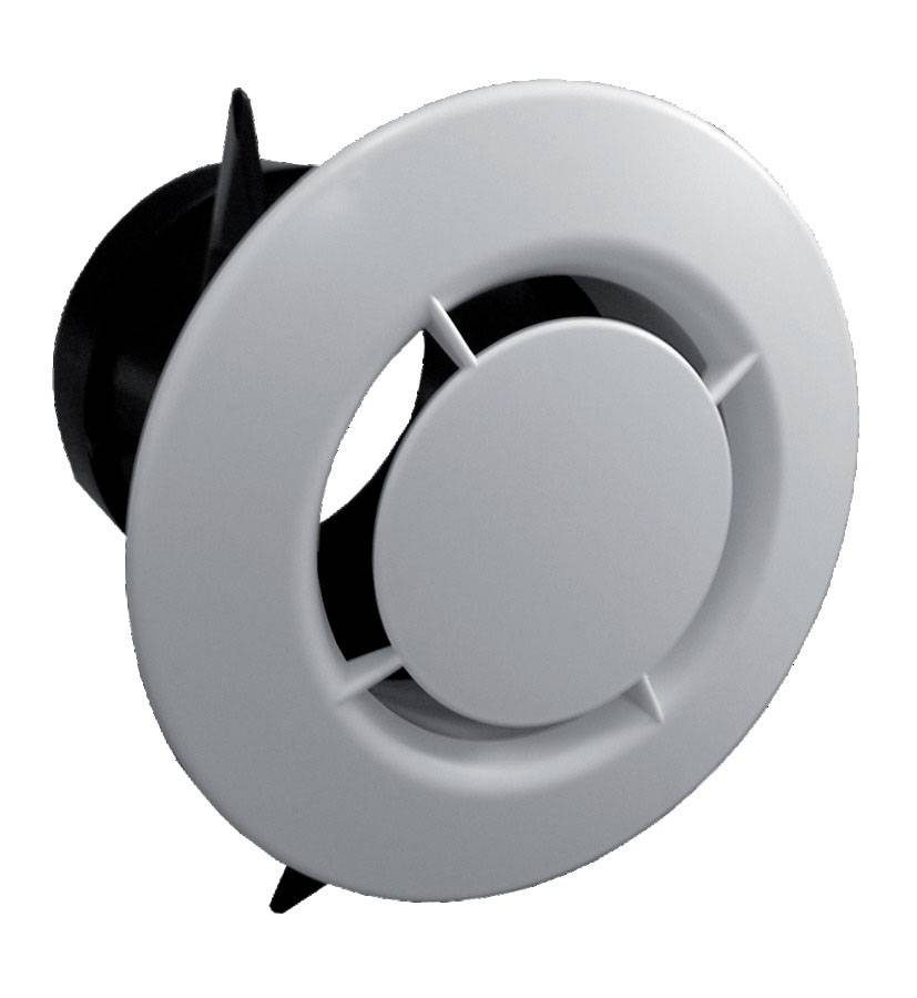 UNELVENT Bouche de ventilation D80 BOCP 80 - UNELVENT - 850021