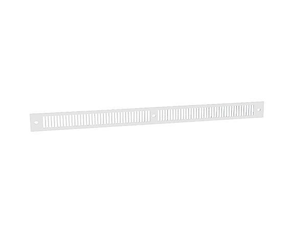 ANJOS Grille alu. prélaqué blanc GAE2A blanc - ANJOS - 0163