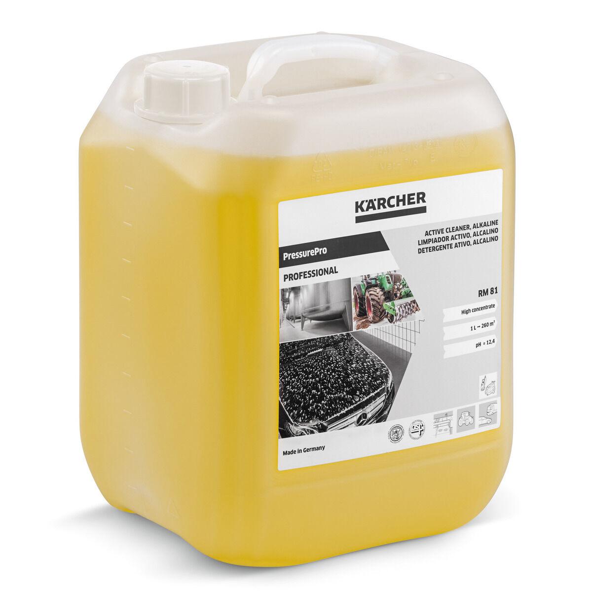 KARCHER Détergent actif PressurePro alcalin RM 81 bidon 10l - KARCHER - 62955560