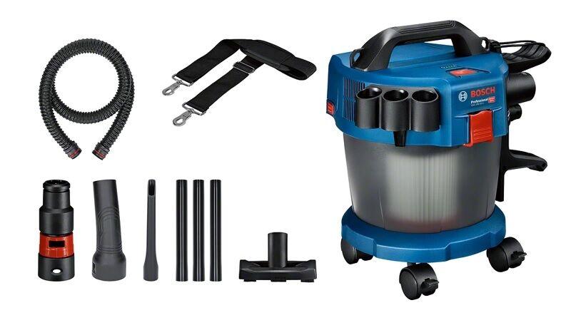 BOSCH Aspirateur sans fil GAS 18 V - 10 L Professional (machine seule) avec accessoires - BOSCH - 06019C6302