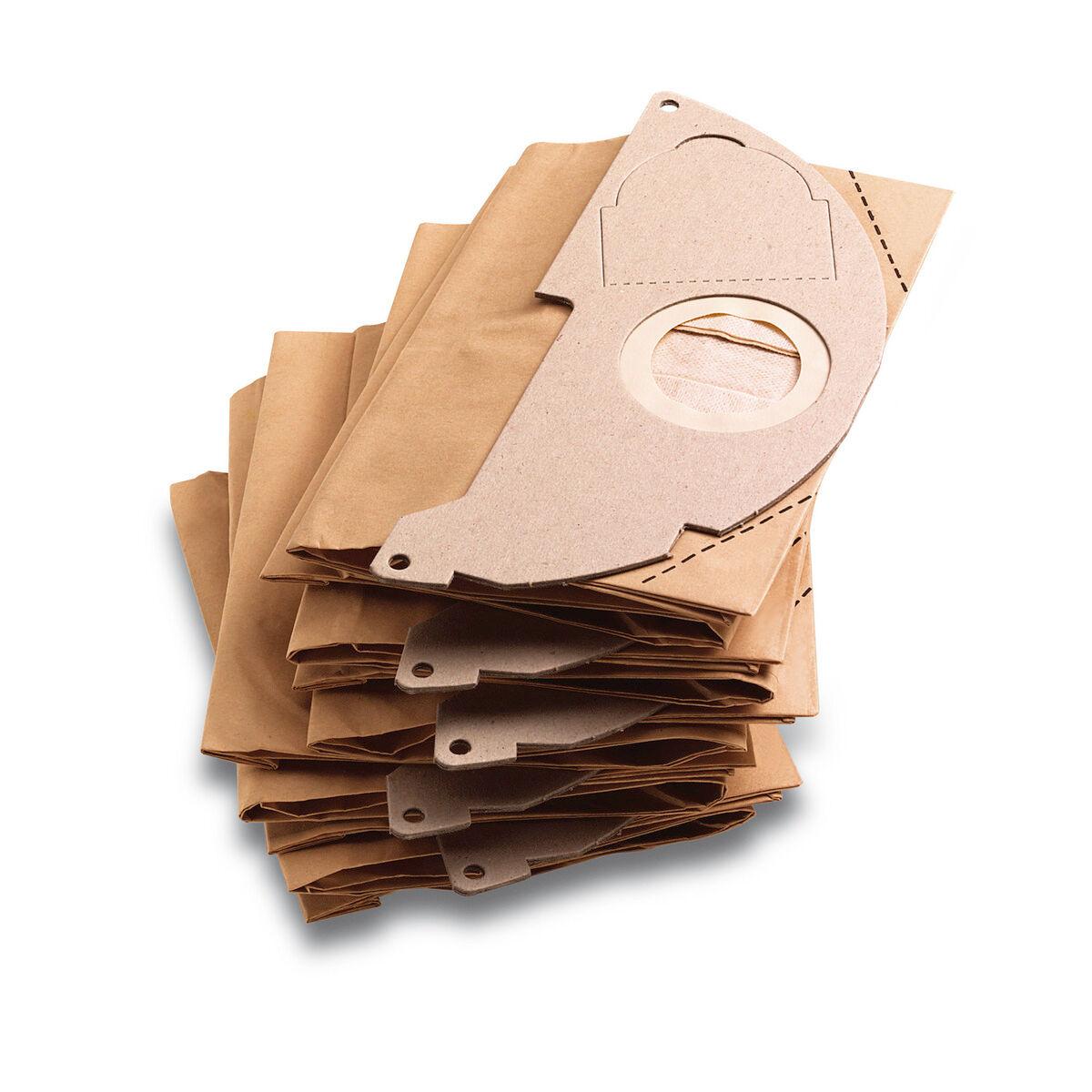 KARCHER Sachet filtre papier WD 2 & WD 2 & A 20XX paquet de 5 pièces - KARCHER - 69043220