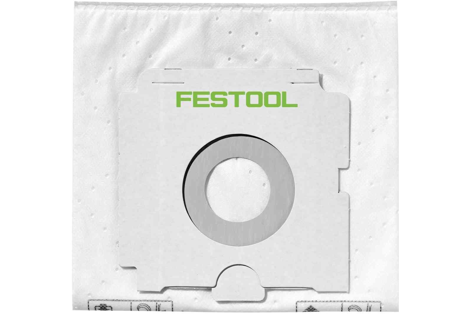 FESTOOL Paquet de 5 sacs filtre SELFCLEAN SC FIS-CT SYS - FESTOOL - 500438