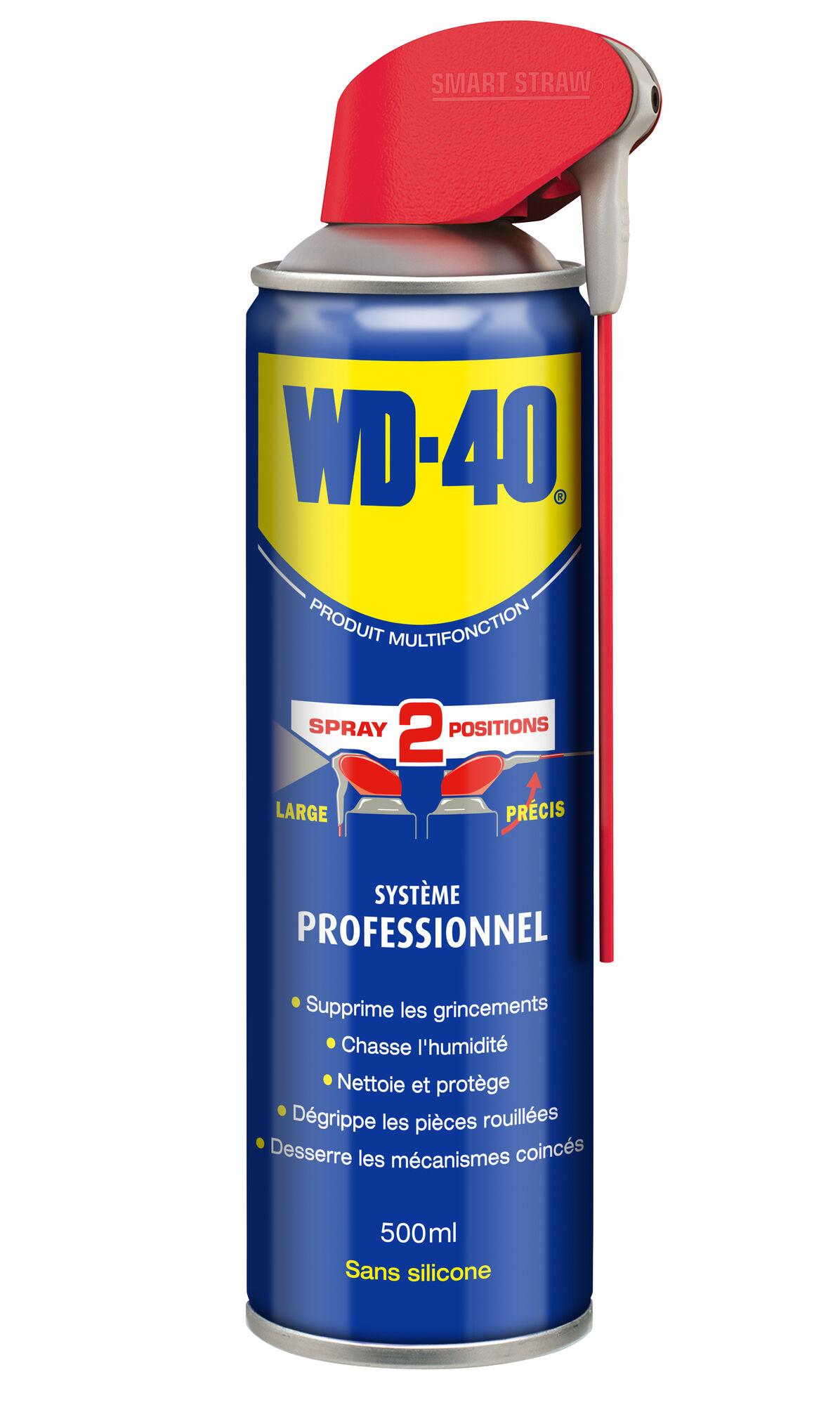 WD-40 PRODUIT MULTIFONCTION Dégrippant multi-usage aérosol 500ml - WD-40 - 33032/104