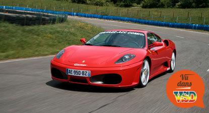 Cap Adrénaline Pilotage d'une Ferrari F430 - Circuit de Folembray