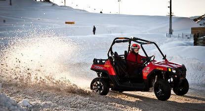 Cap Adrénaline Découverte conduite sur glace Buggy à l'Alpe d'Huez