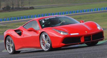 Cap Adrénaline Baptême en Ferrari 488 GTB - Circuit de Fontenay le Comte