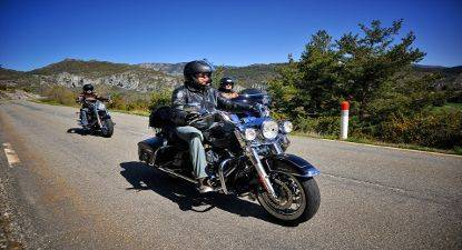 Cap Adrénaline Découverte de la Région Cannoise en Harley-Davidson