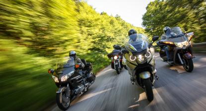 Cap Adrénaline Escapade en moto sur les routes d'île de France