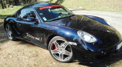 Cap Adrénaline Pilotage sur Route d'une Porsche Cayman S en Centre Alsace