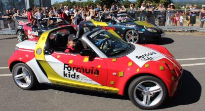 Cap Adrénaline Stage de conduite spécial enfant d'une Porsche ou BMW près de Nantes