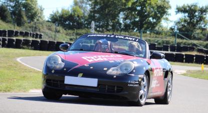 Cap Adrénaline Stage de pilotage (Porsche, BMW...) pour enfant à Dax