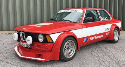 Cap Adrénaline Stage de pilotage rallye VHC sur BMW E21 près d'Avignon