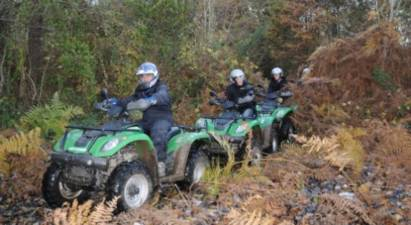 Cap Adrénaline Randonnée en quad dans des chemins forestiers près de Blois