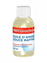 Mercurochrome Huile d'Amande Douce Raffinée 100 ml - Flacon 100 ml