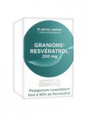 Granions Resvératrol 200 mg 30 Gélules - Boîte 30 gélules