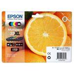 epson  Epson Multipack de 5 cartouches d'encre Epson 33 XL Oranges... par LeGuide.com Publicité